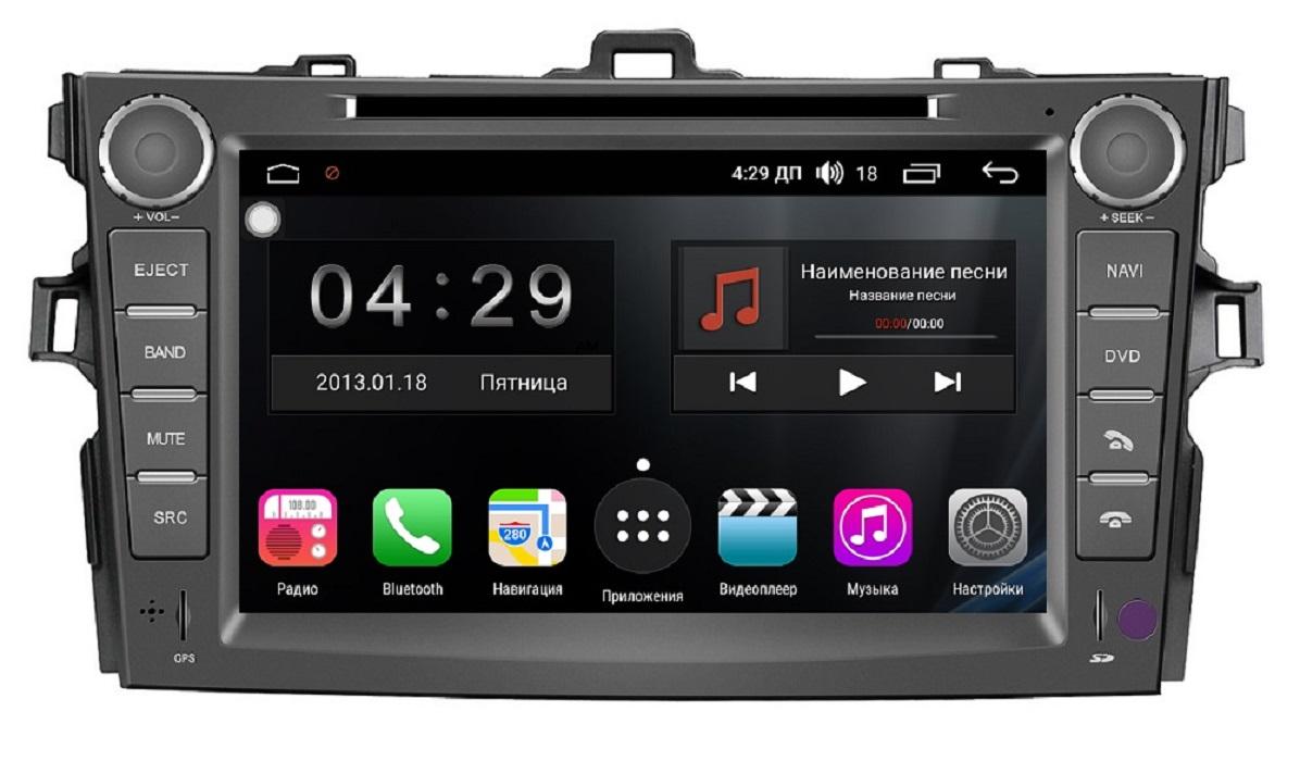 Штатная магнитола FarCar s300 для Toyota Corolla на Android (RL063) (+ Камера заднего вида в подарок!)