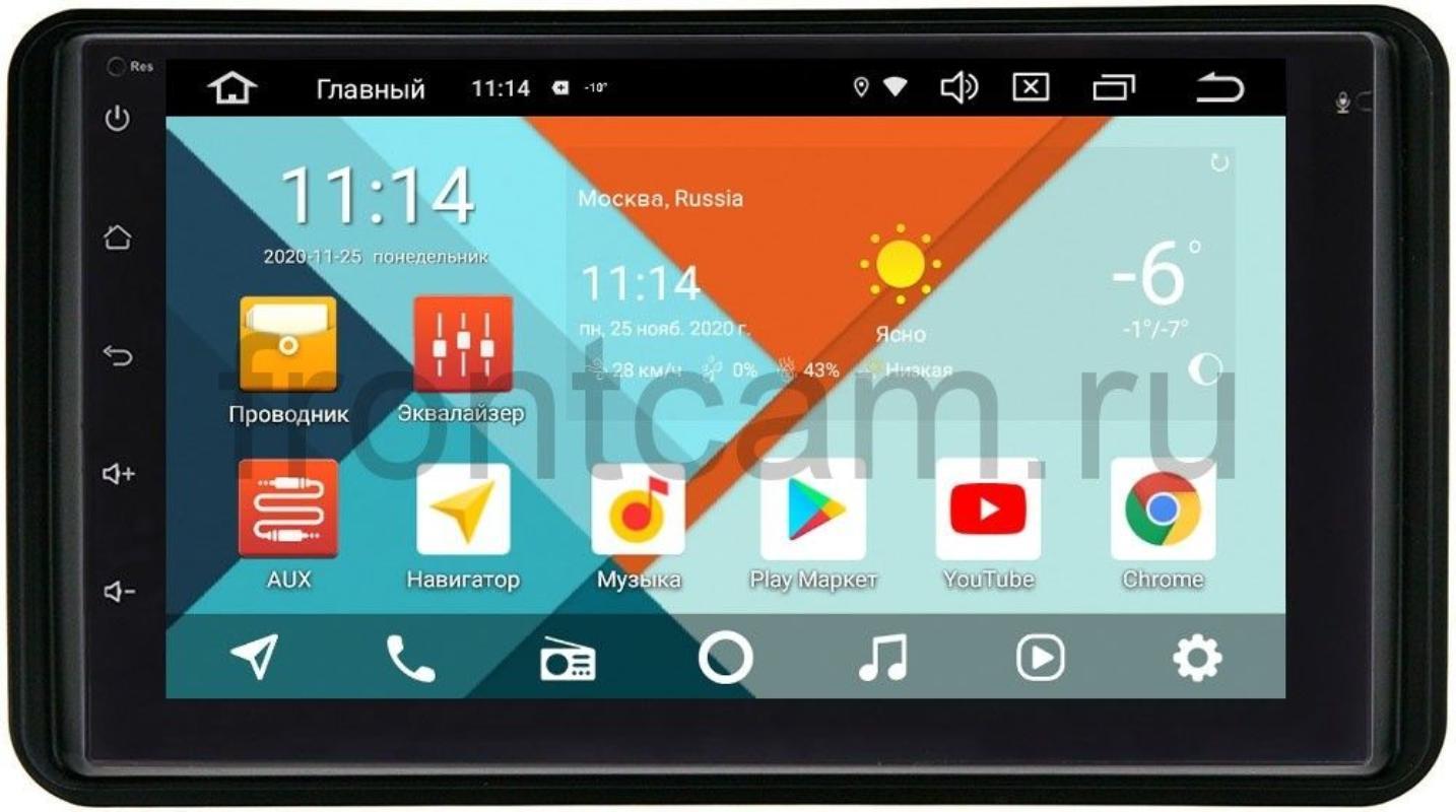Магнитола для Suzuki Jimny III Wide Media KS7001QR-3/32-RP-SZJM-174 на Android 10(DSP CarPlay 4G-SIM) (+ Камера заднего вида в подарок!)