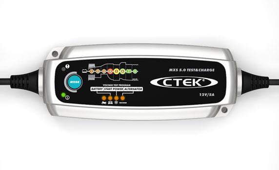Зарядное устройство Ctek MXS 5.0 TEST&CHARGE с тестером для АКБ