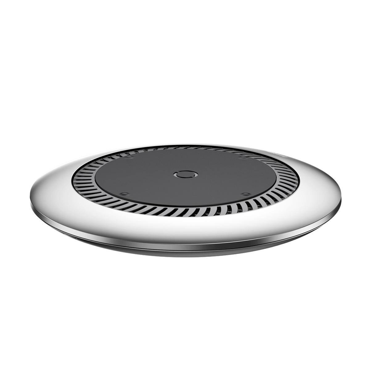 Картинка для Беспроводное зарядное устройство Baseus whirlwind Desktop wireless charger Silver