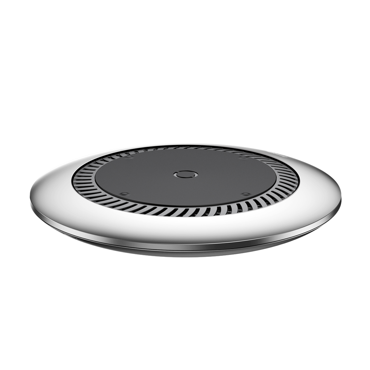 Беспроводное зарядное устройство Baseus whirlwind Desktop wireless charger Silver зарядное