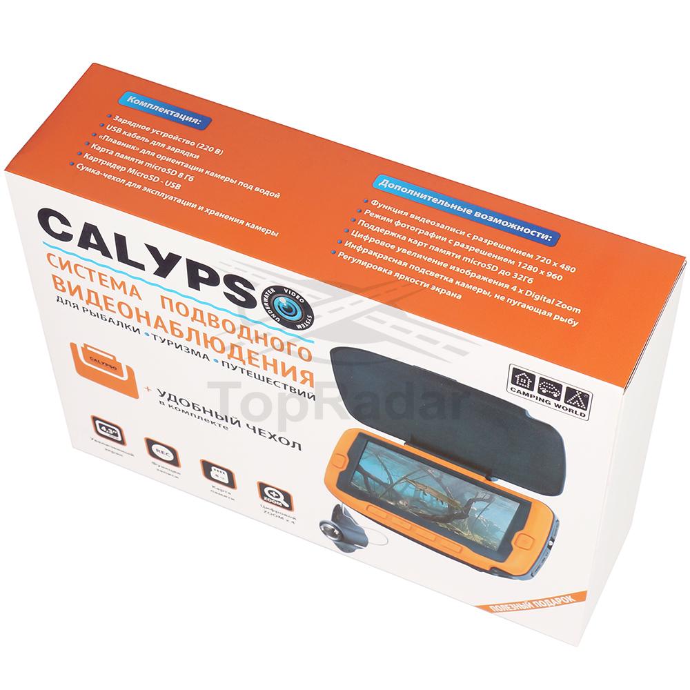 Подводная видео-камера для зимней рыбалки CALYPSO UVS-03 (Power Bank в подарок!)