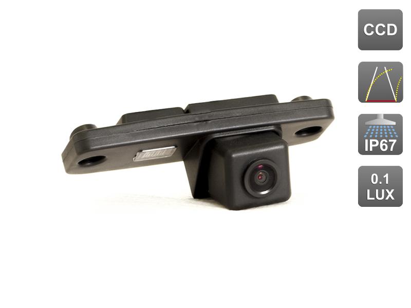 CCD штатная камера заднего вида c динамической разметкой AVIS Electronics AVS326CPR (#146) для KIA SPORTAGE III (2010-...) чехлы автомобильные senator atlant для kia sportage iii 2010