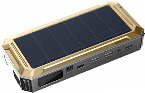 Компактное ПЗУ с солнечной панелью SITITEK SolarStarter 18000 (+ Салфетки из микрофибры для любых задач в подарок!)