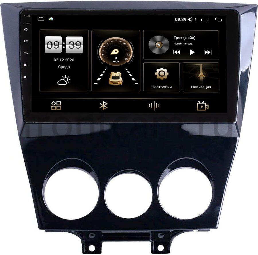 Штатная магнитола LeTrun 4196-9-234 для Mazda RX-8 2008-2012 на Android 10 (6/128, DSP, QLed) С оптическим выходом (+ Камера заднего вида в подарок!)