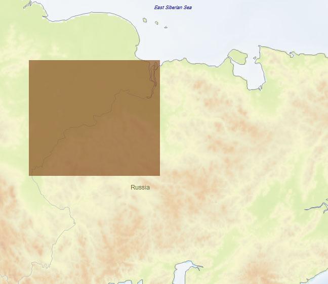 Карта C-MAP RS-N518 - Колыма низовье