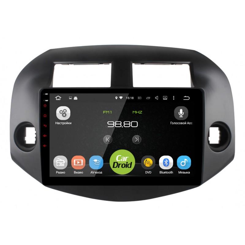 Штатная магнитола Roximo CarDroid S10 RS-1120 для Toyota Rav4 2006 (Android 8.1) (+ Камера заднего вида в подарок!)