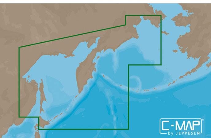 Карта C-MAP AN-N013 - Камчатка и Курильские о-ва