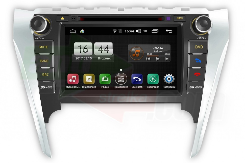 Штатная магнитола FarCar S170 для Toyota Camry 2012+ на Android (L131)