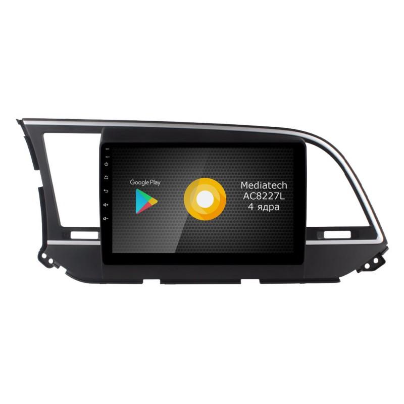 Фото - Штатная магнитола Roximo S10 RS-2016 для Hyundai Elantra 6 (Android 8.1) (+ Камера заднего вида в подарок!) видео