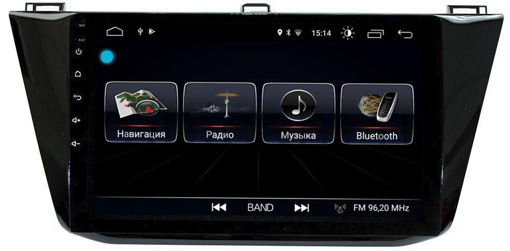 цена на Штатная магнитола LeTrun 1861 для Volkswagen Tiguan 2016-2019 на Android 8.0.1 MTK-L 1Gb