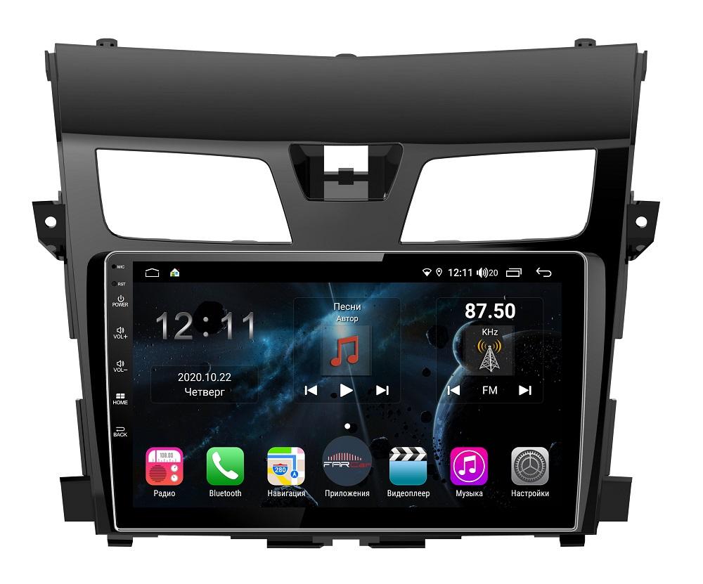 Штатная магнитола FarCar s400 для Nissan Teana на Android (H2004R) (+ Камера заднего вида в подарок!)