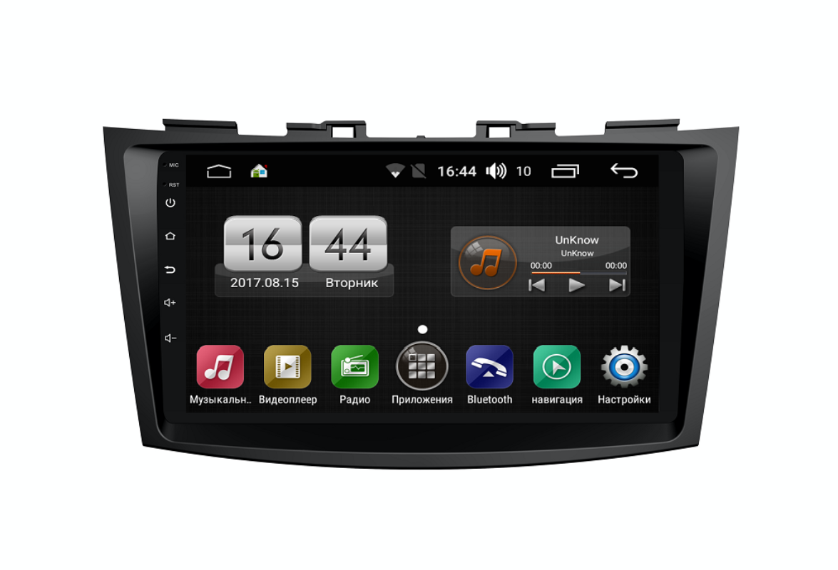 Штатная магнитола FarCar s195 для Suzuki Swift 2011+ на Android (LX179R) (+ Камера заднего вида в подарок!)
