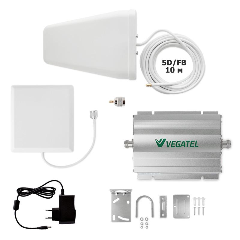 Усилитель сотовой связи VEGATEL VT-900E/1800-kit (дом) усилитель антенный vegatel vta20 1800