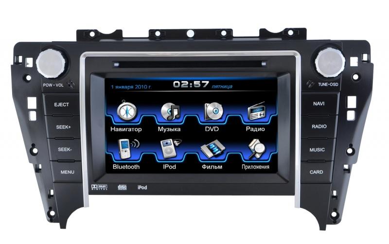 Штатная магнитола Incar CHR-2291 JB Toyota Camry V50 штатное головное устройство incar chr 6294 c4 citroen c4