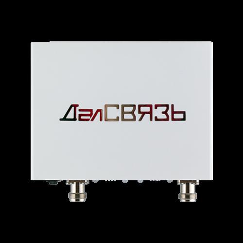 Репитер Далсвязь DS-900/1800-10Репитеры (усилители)<br>Двухдиапазонный усилитель сигнала сотовой связи работающий в стандарте GSM900, GSM1800, 3G UMTS900, LTE1800. Усиление 60±2 дБ. Мощность до 10 мВт. Площадь покрытия до 200 м?.
