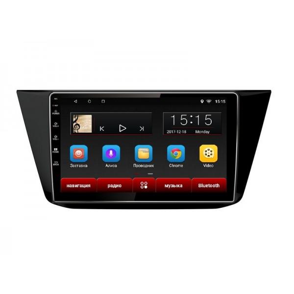 """Головное устройство Subini VW101 с экраном 10,2"""" для Volkswagen Tiguan (2016+) (+ Камера заднего вида в подарок!)"""