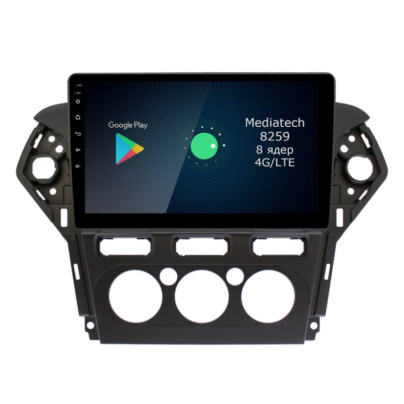 Штатная магнитола Roximo 4G RX-1713M для Ford Mondeo 4, 2010-2015 (+ Камера заднего вида в подарок!)