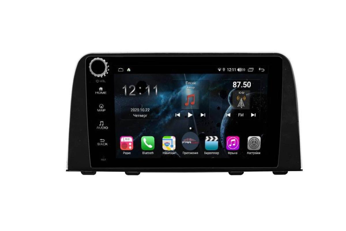 Штатная магнитола FarCar s400 для Honda CR-V на Android (H1011RB) (+ Камера заднего вида в подарок!)