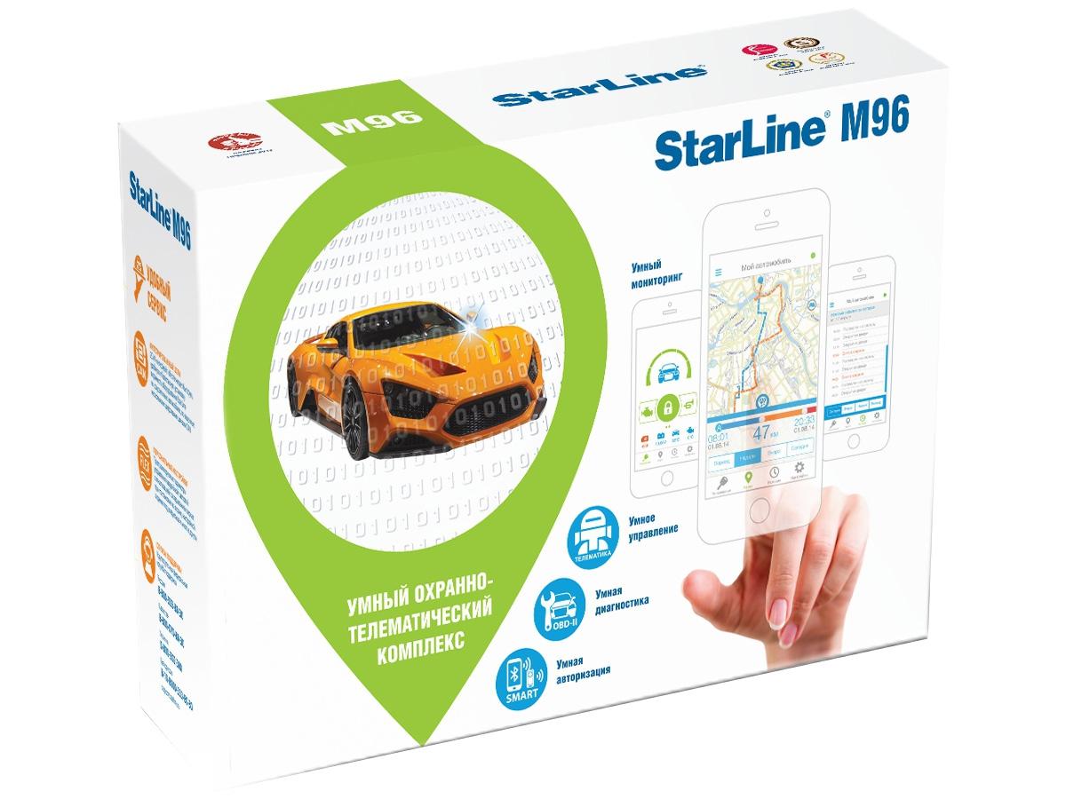 Охранно-телематический комплекc StarLine M96 L (2sim)
