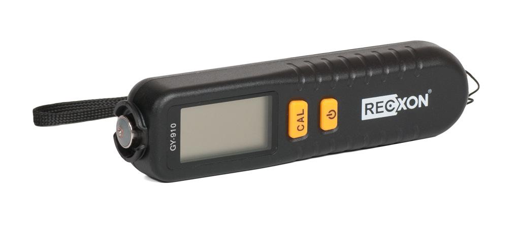 Толщиномер лакокрасочного покрытия Recxon GY 910 толщиномер лакокрасочного покрытия etari ет 600 батарейки в подарок