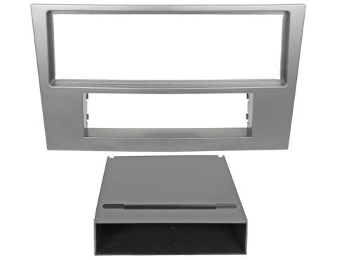 Переходная рамка Intro ROP-N01 для Opel Astra 04+ 1DIN Silver переходная рамка intro rfa n01 для faw vita v5 2din