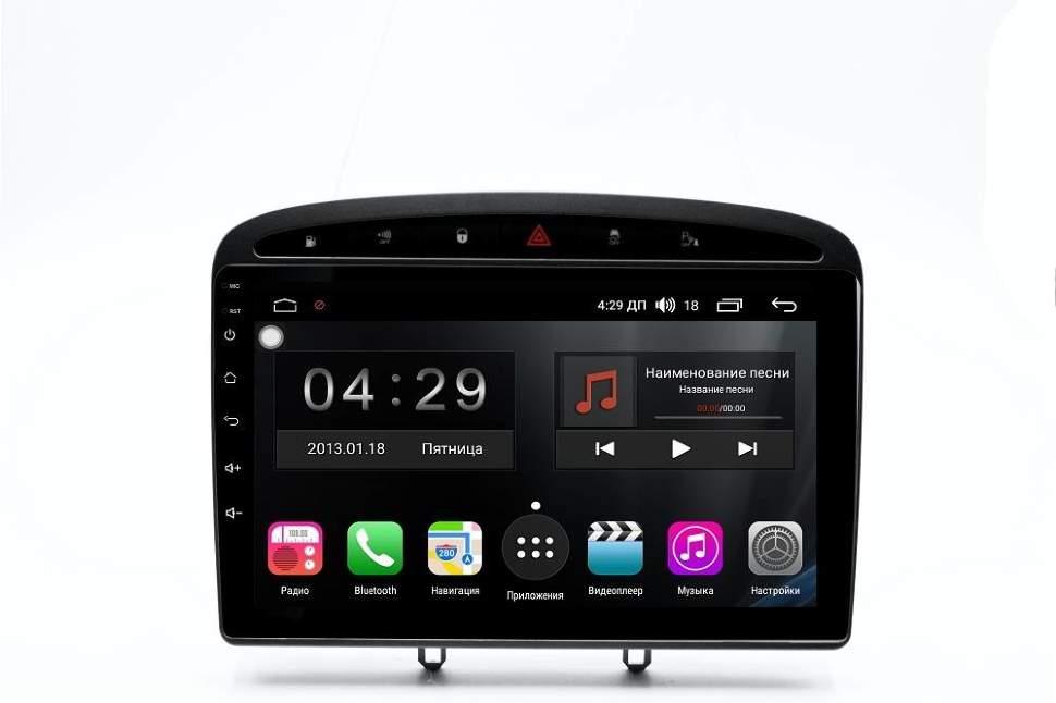 Штатная магнитола FarCar s300-SIM 4G для Peugeot 308/408 на Android (RG083R) (+ Камера заднего вида в подарок!)