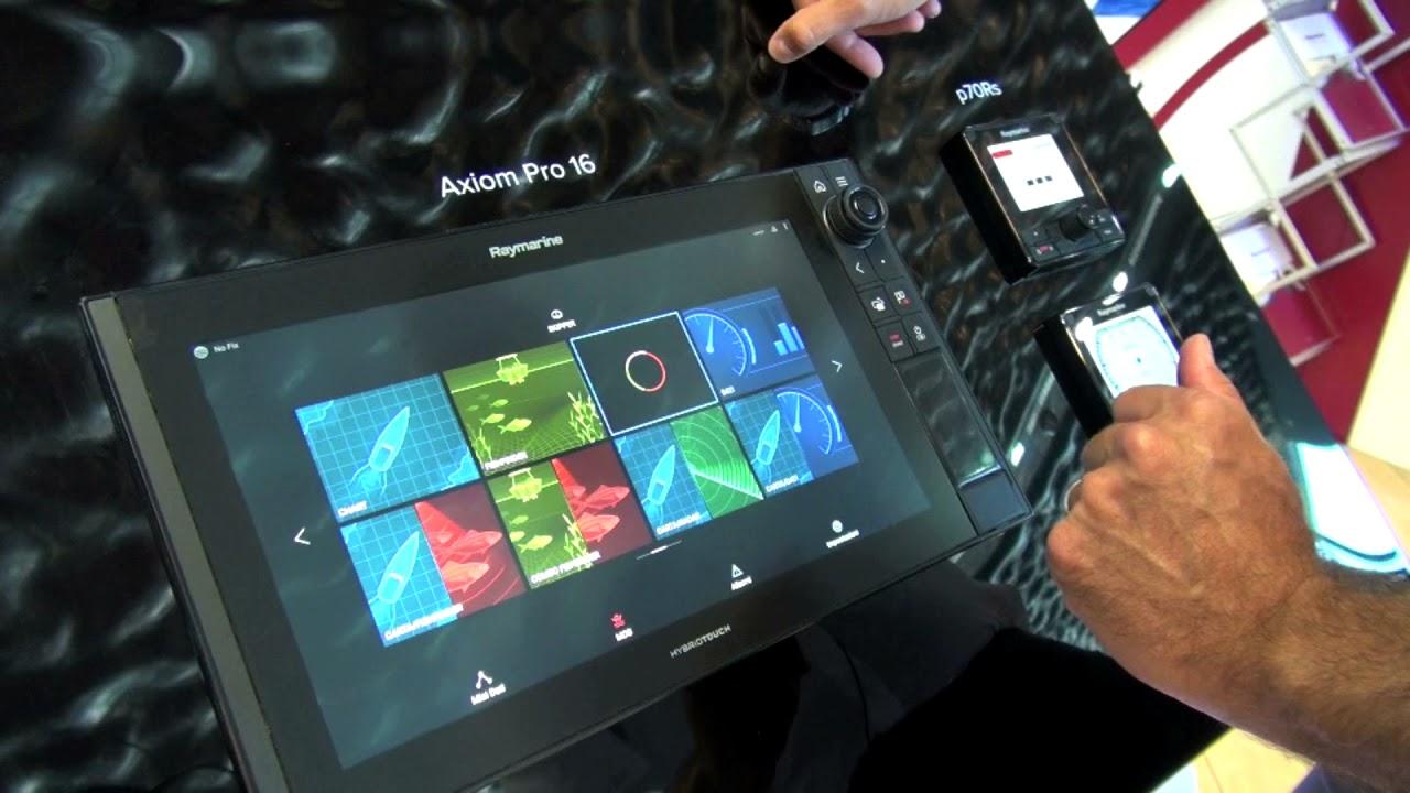Многофункциональная система навигации Raymarine AXIOM 16 Pro-RVX with 1kW Sonar, DV, SV and RealVision 3D (+ Аккумулятор, зарядка и струбцина в подарок!)