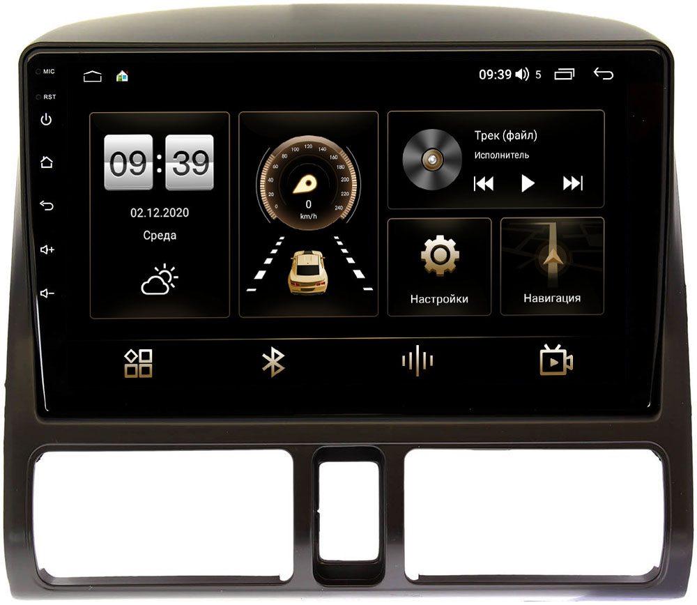Штатная магнитола Honda CR-V II 2001-2006 LeTrun 3792-9204 на Android 10 (4/64, DSP, QLed) С оптическим выходом (+ Камера заднего вида в подарок!)