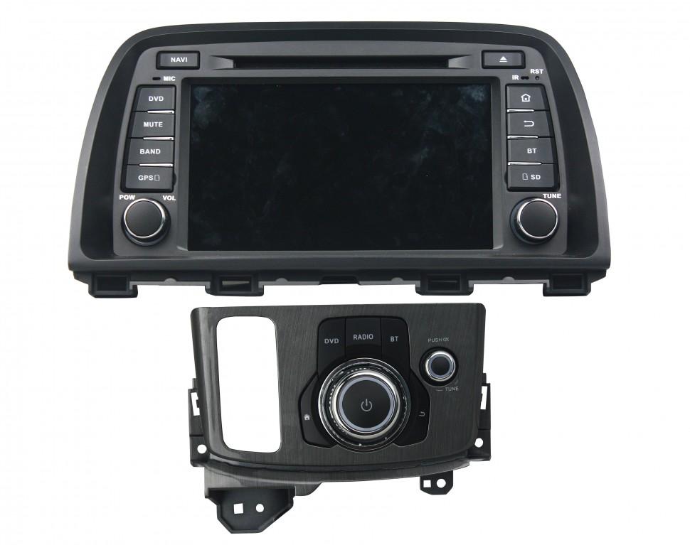 Штатная магнитола для Mazda CX-5 2011+ CARMEDIA KD-8236-P3-7 на Android 7.1 штатная магнитола carmedia kd 7052 p3 7 dvd ford focus ii mondeo s max galaxy tourneo transit connect серебро