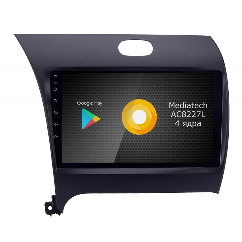Фото - Штатная магнитола Roximo S10 RS-2316 для KIA Cerato 3 (Android 8.1) (+ Камера заднего вида в подарок!) видео
