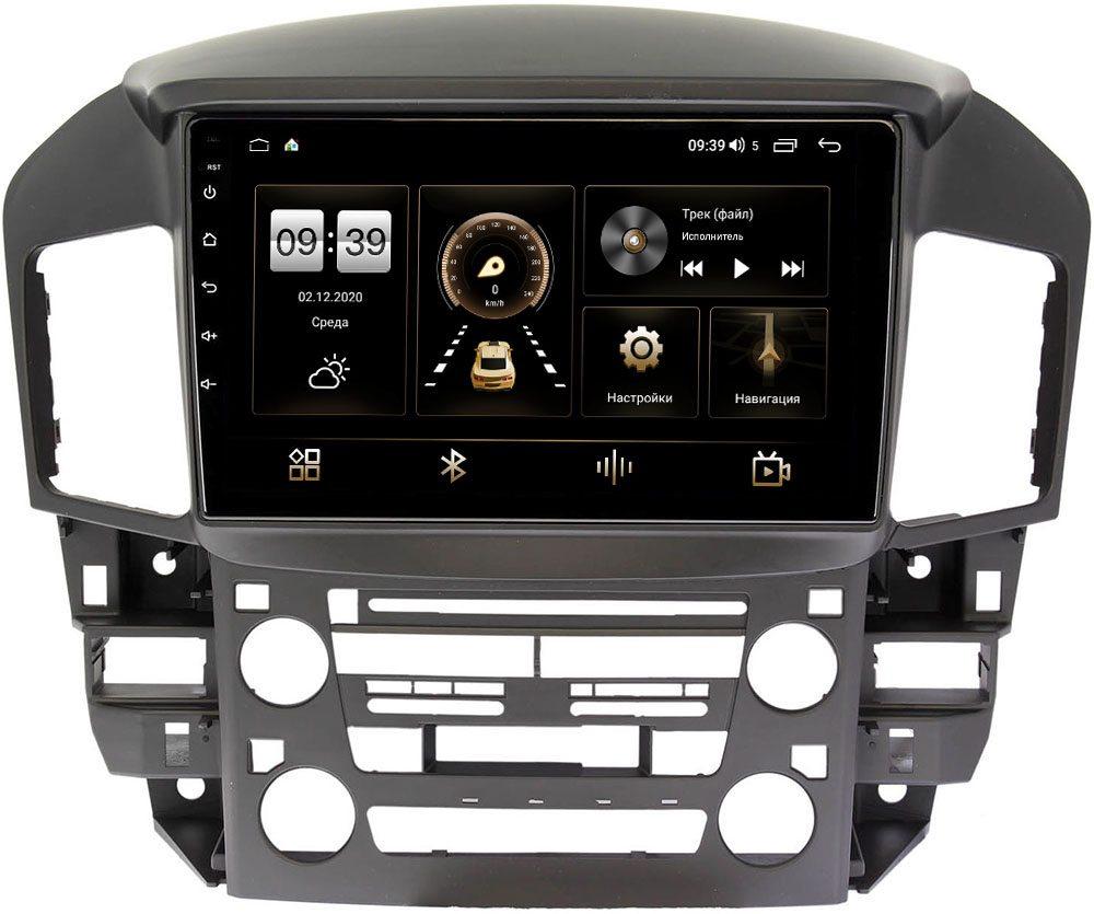 Штатная магнитола LeTrun 4196-9218 для Toyota Harrier I (XU10) 1997-2003 на Android 10 (6/128, DSP, QLed) С оптическим выходом (+ Камера заднего вида в подарок!)