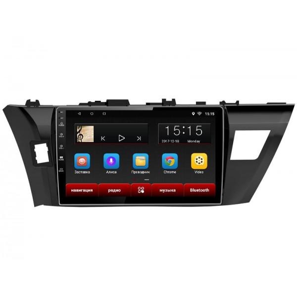 Головное устройство Subini TOY103 с экраном 9 для Toyota Corolla 2014+ (+ Камера заднего вида в подарок!).
