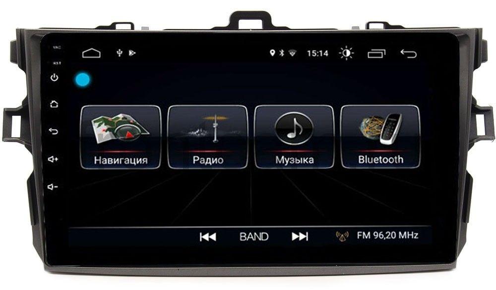 Штатная магнитола LeTrun 2664 для Toyota Corolla X 2006-2013 на Android 8.0.1 MTK-L 1Gb (+ Камера заднего вида в подарок!)