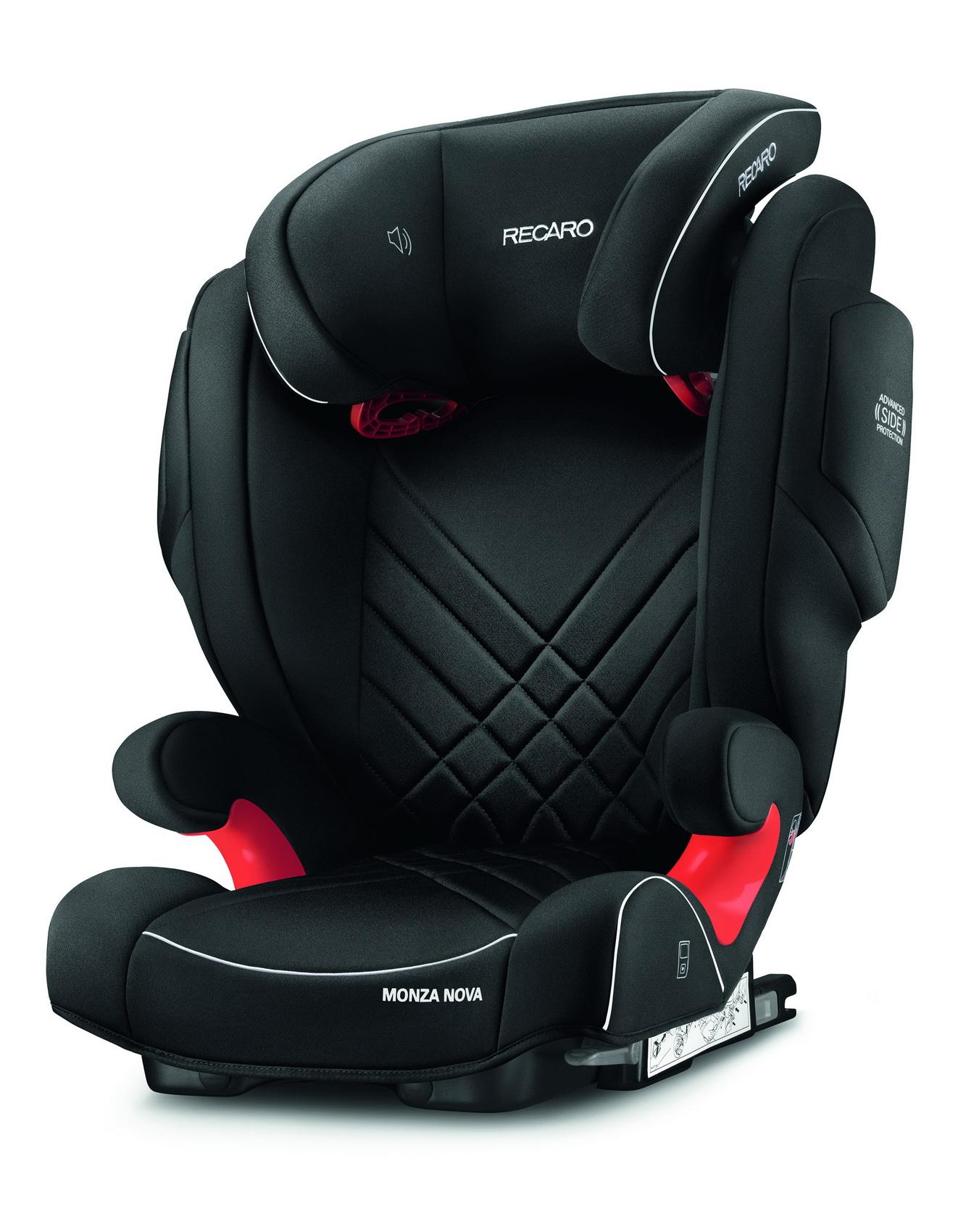 Автокресло Recaro Monza Nova 2 Seatfix Perfomance Black (+ Солнцезащитные шторки в подарок!) автокресло recaro monza nova 2 seatfix prime pale rose антисептик спрей для рук в подарок