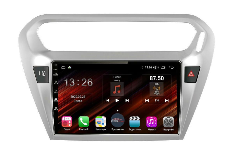 Штатная магнитола FarCar s400 Super HD для Peugeot 301, Citroen C-Elysee на Android (XH294R) (+ Камера заднего вида в подарок!)