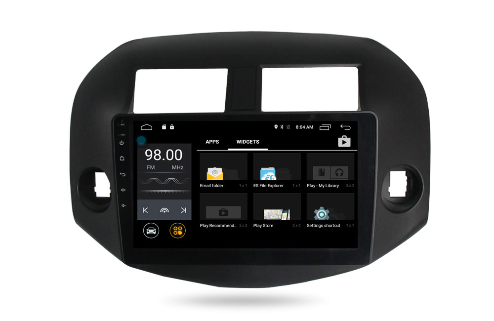 Штатная магнитола CARMEDIA MKD-1047 DVD Toyota RAV4 2006-2012 lsqstar 8 android4 0 capacitive screen car dvd player w gps fm bt wifi swc tv aux for toyota prius