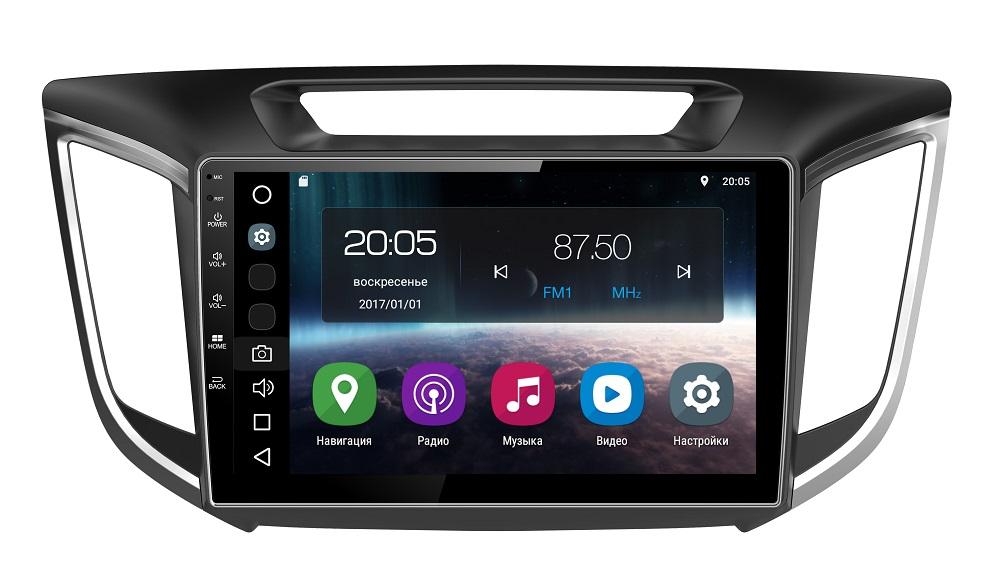 Штатная магнитола FarCar s200 для Hyundai Creta 2016+ на Android (V407R)