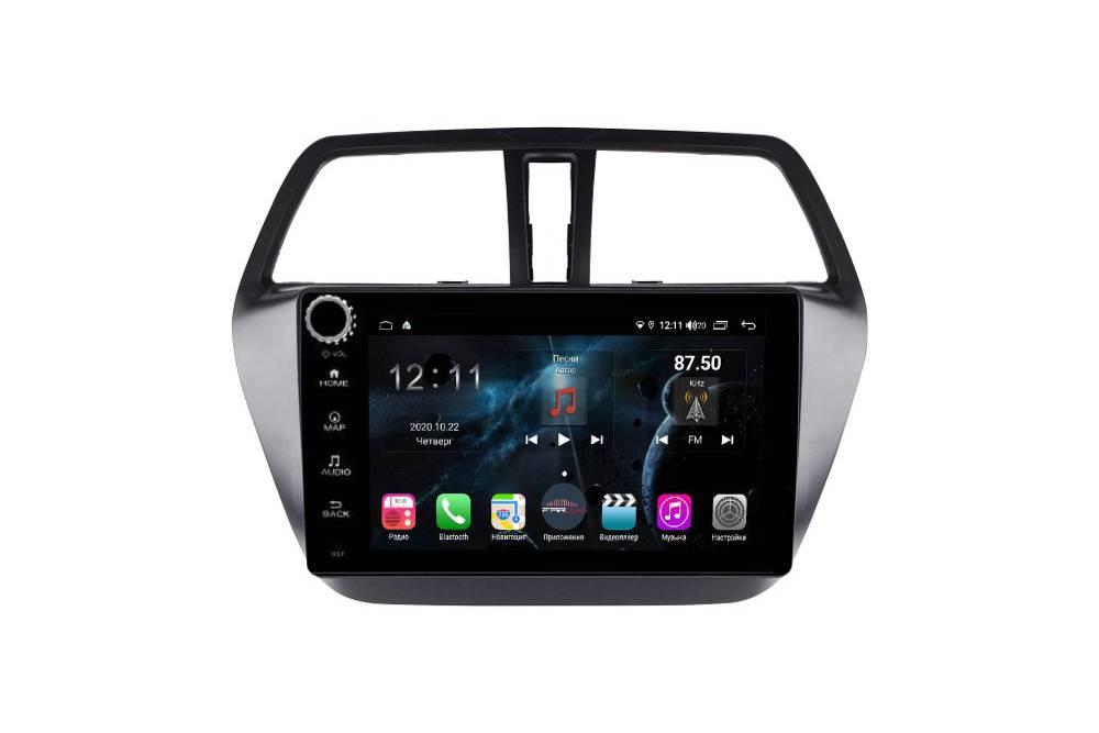 Штатная магнитола FarCar s400 для Suzuki Sx-4 на Android (H337RB) (+ Камера заднего вида в подарок!)