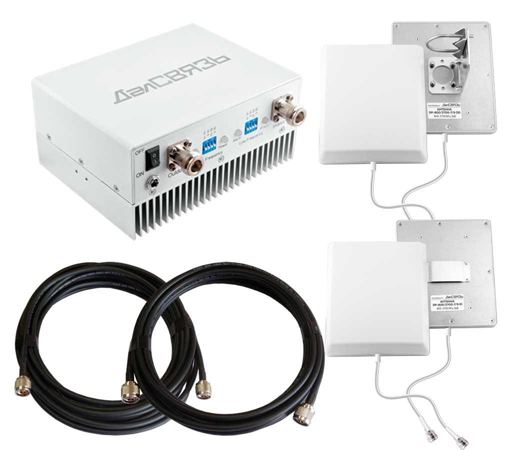 Усилитель сотовой связи ДалСВЯЗЬ DS-900/1800-17 ver.2