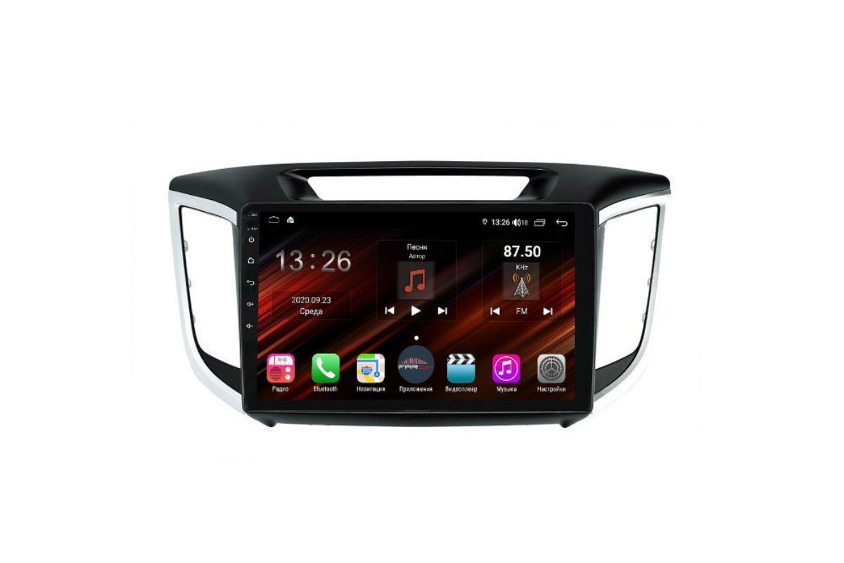 Штатная магнитола FarCar s400 Super HD для Hyundai Creta на Android (XH407R) (+ Камера заднего вида в подарок!)