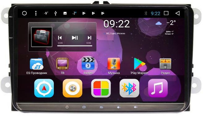 Штатная автомагнитола VOMI ST1688-T8 для Volkswagen, Skoda на Android 8.1.0