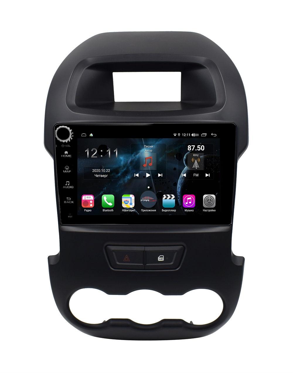 Штатная магнитола FarCar s400 для Ford Ranger на Android (H245RB) (+ Камера заднего вида в подарок!)