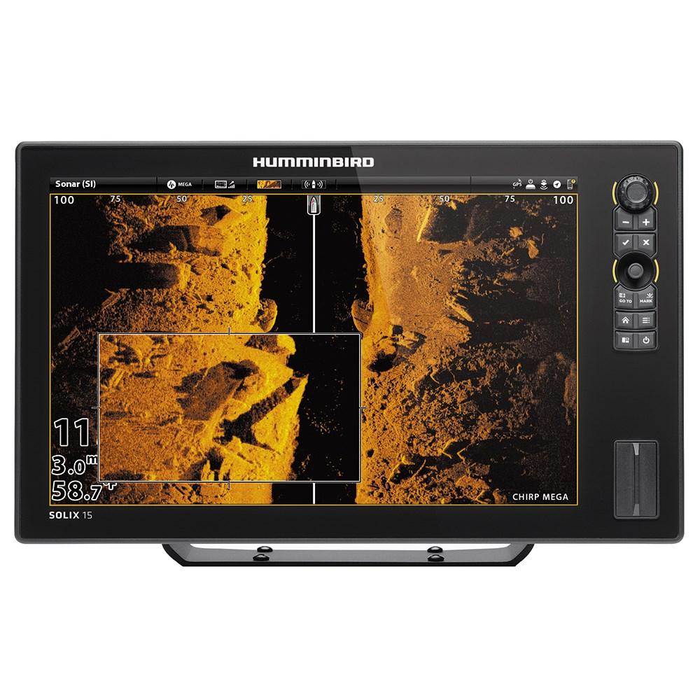 Эхолот-картплоттер Humminbird Solix 15 Chirp Mega SI GPS