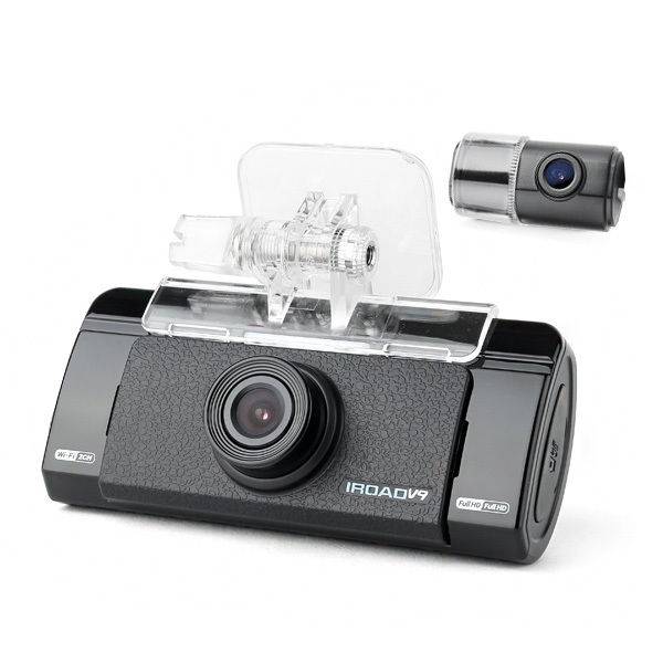 IROAD DASH CAM V9 chupad d512 front and rear dash cam 1080p gps track query playback