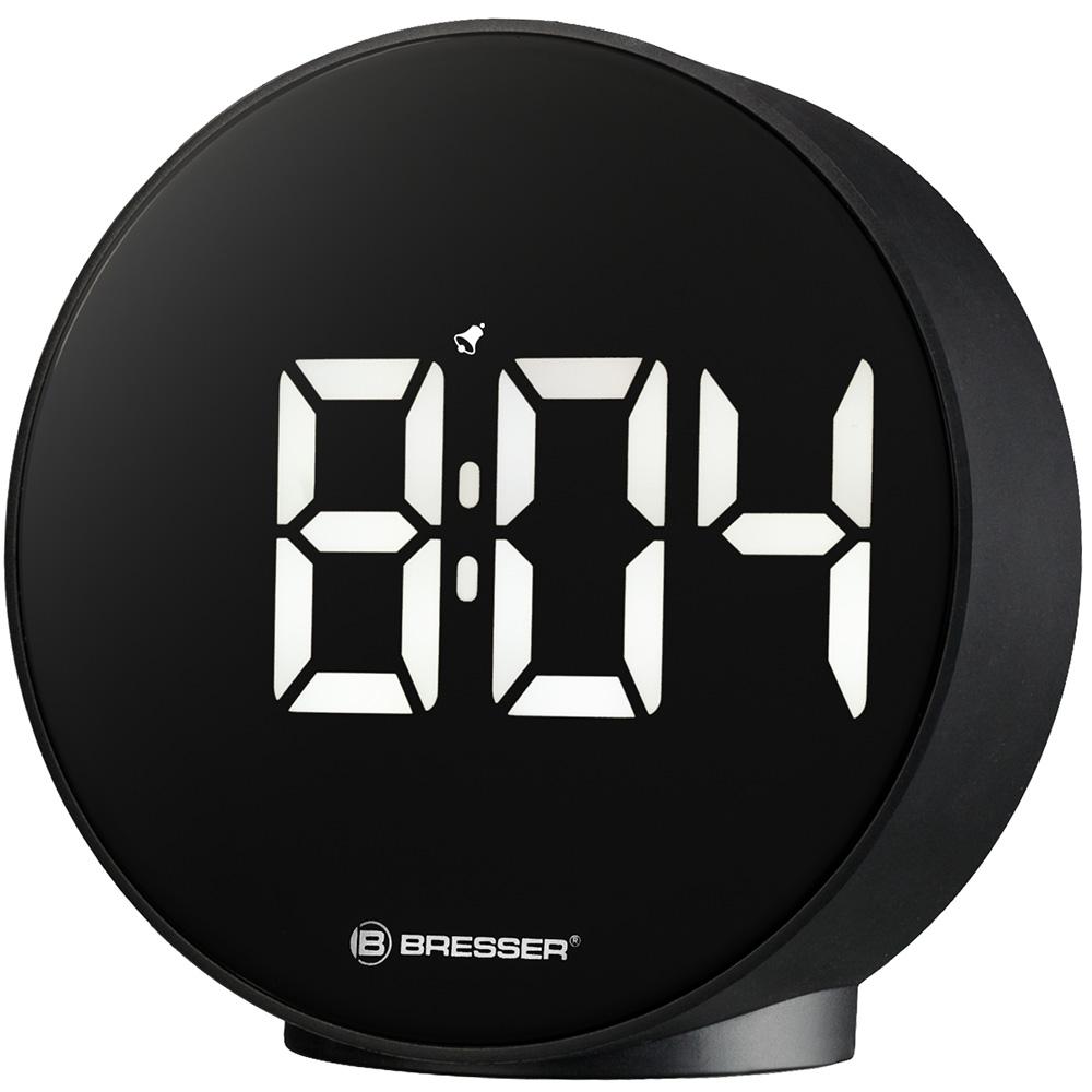 Часы Bresser MyTime Echo FXR, черные (+ Автомобильные коврики в подарок!)