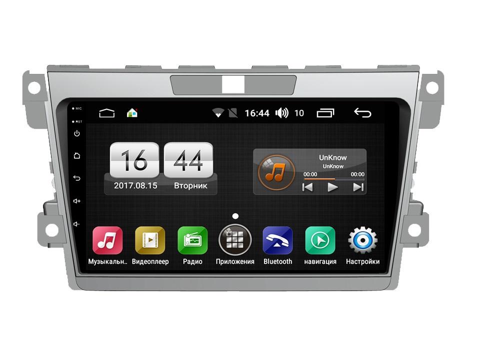 Штатная магнитола FarCar s185 для Mazda CX-7 2008-2012 на Android (LY097R) (+ Камера заднего вида в подарок!)