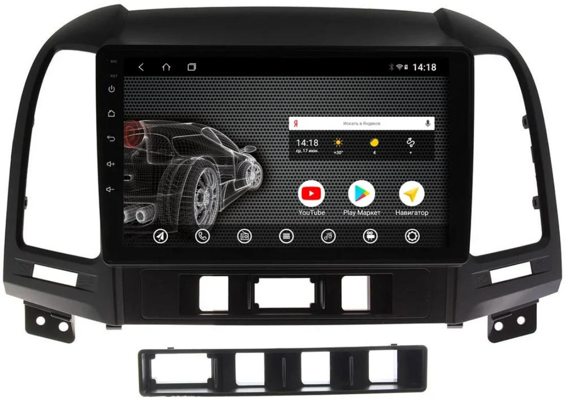 Головное устройство vomi ST2847-TS9 для Hyundai Santa Fe 2 (2006-2012 CM) (+ Камера заднего вида в подарок!)