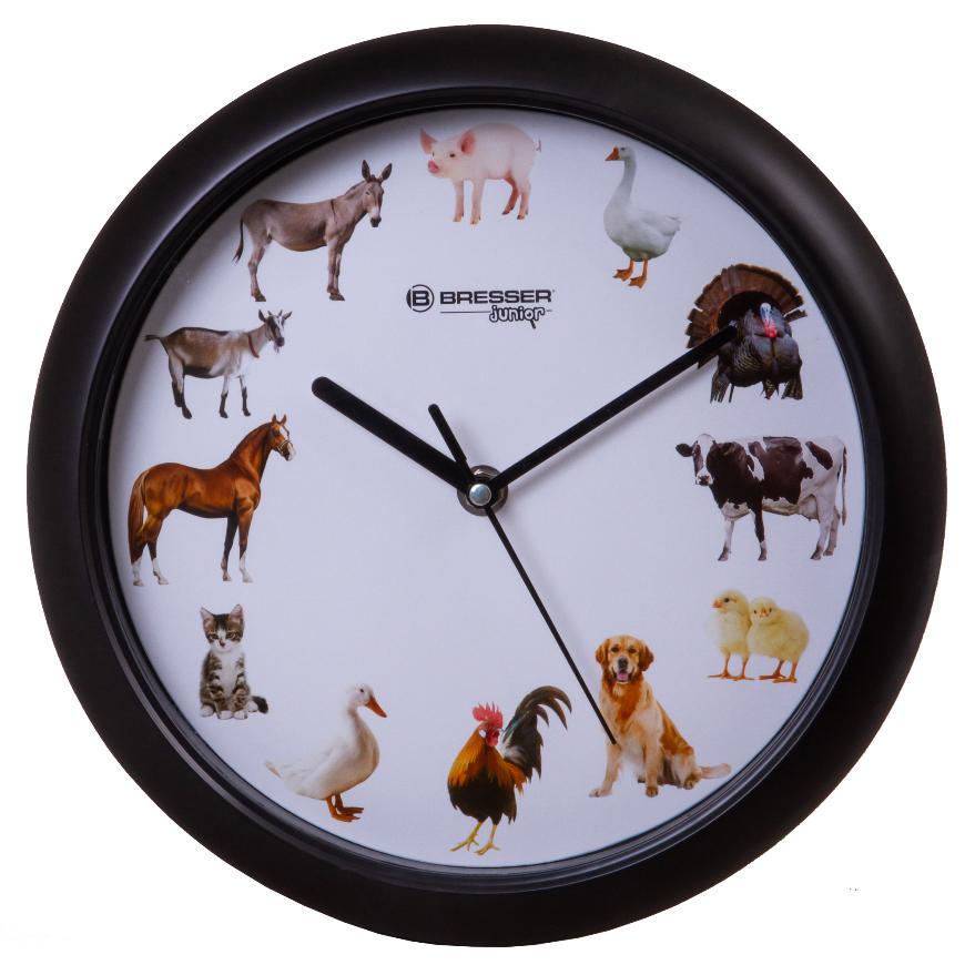 Фото - Часы настенные Bresser Junior, 25 см, с животными виктор ерофеев кто любит сильнее мужчины или женщины