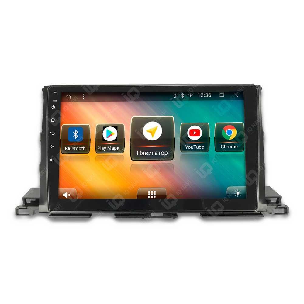 Автомагнитола IQ NAVI TS9-2916PFHD Toyota Highlander III (XU50) (2014+) 10,1 DSP (4 CH) + 4G SIM (+ Камера заднего вида в подарок!)